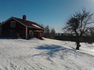 Kilsbergsstugan i snö