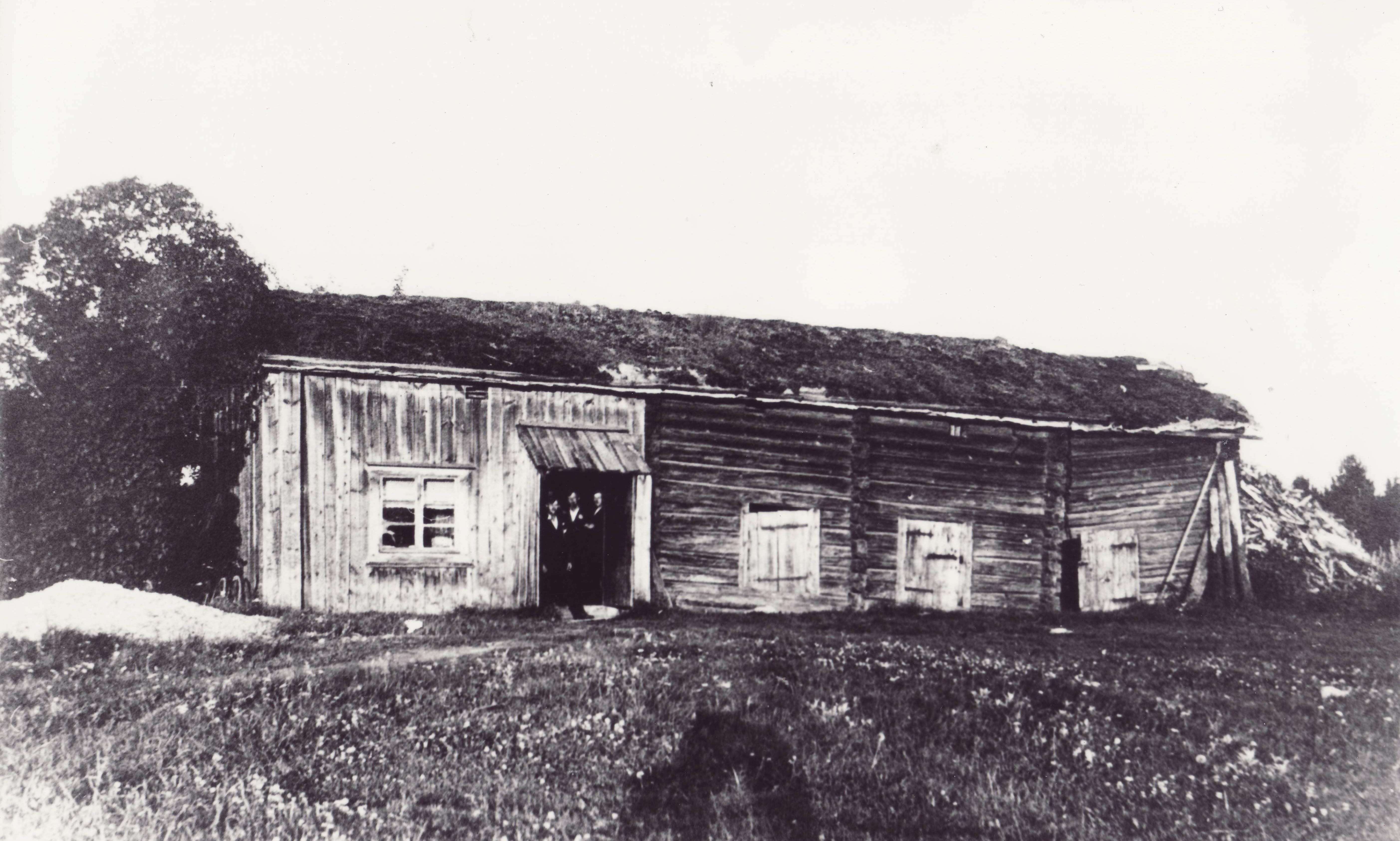 Norra Gården omkring 1850