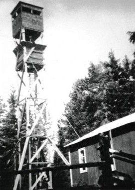 Luftbevakningstornet i Tomasboda