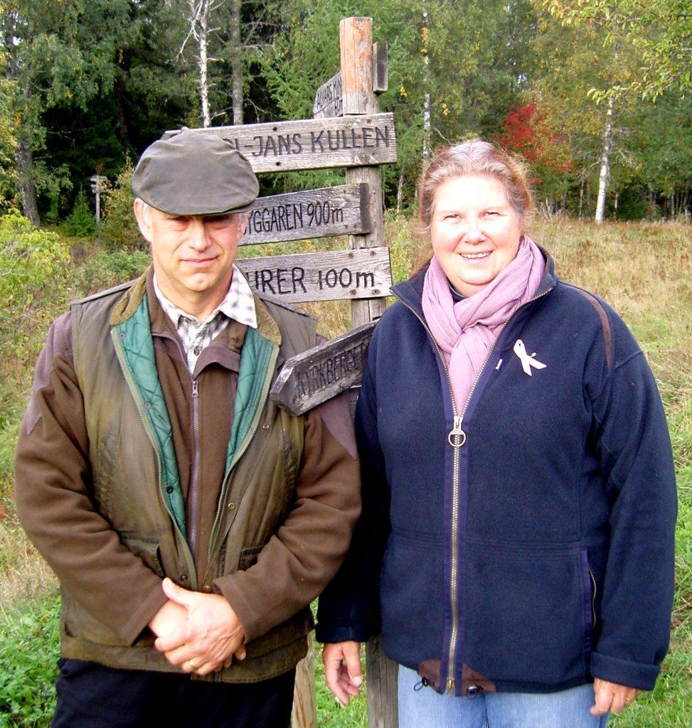 Två gäster från Skåne